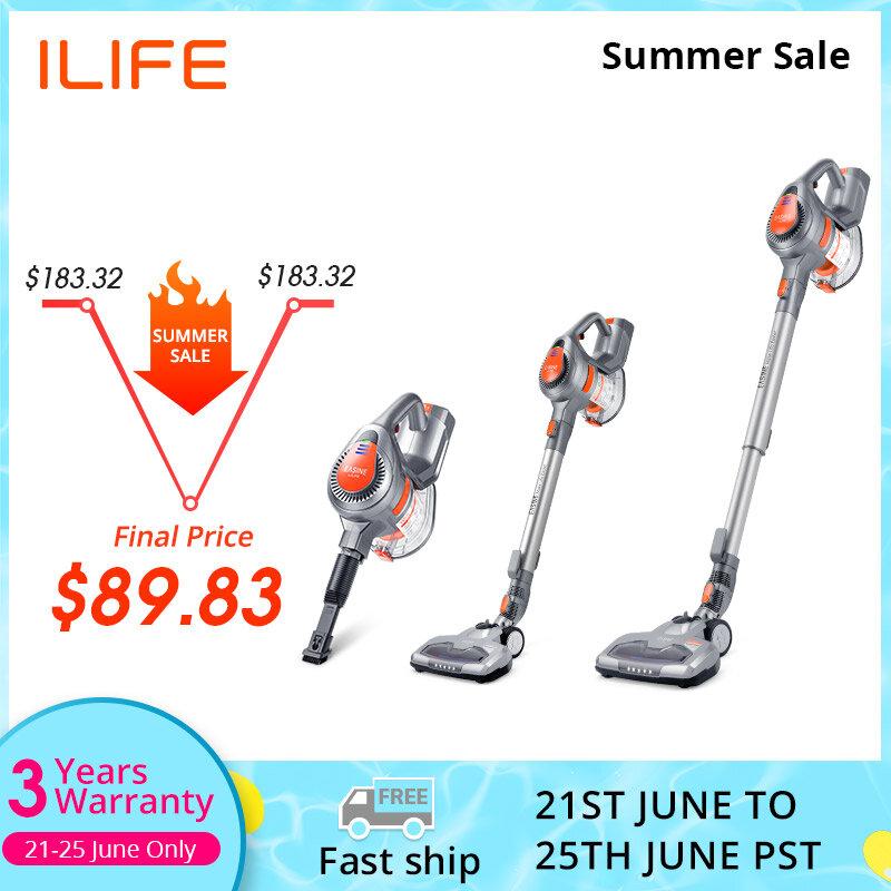 EASINE durch ILIFE H55 Handheld Cordless Drahtlose Staubsauger 10,5 KPa Saug Power, 35 Minuten Arbeitszeit-Wurf Sauber Gerät
