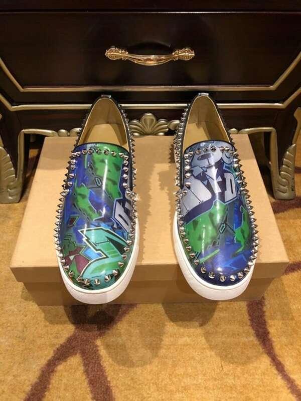 Summer Loafers men Red bottom shoes for men slip on Luxury designer shoes Leather Flat vulcanized boat shoes Man big size 47 48