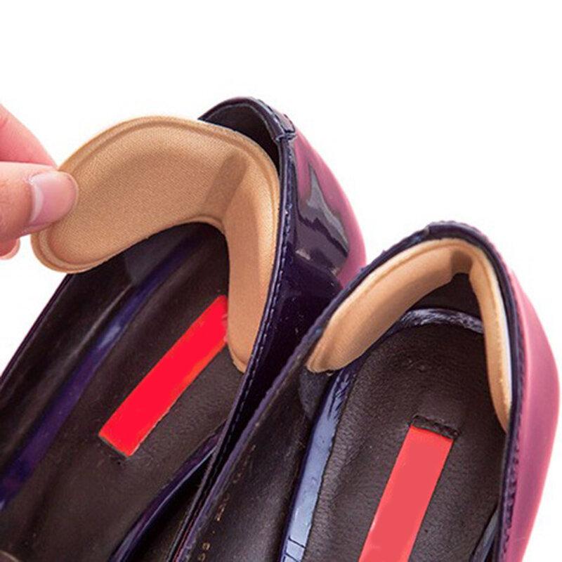 รองเท้าInsoles Anti Slip Stickyผ้าแผ่นFeet Careเครื่องมือสำหรับด้านหลังรองเท้าส้นสูงถูส้นรองเท้าInsolesแทรก