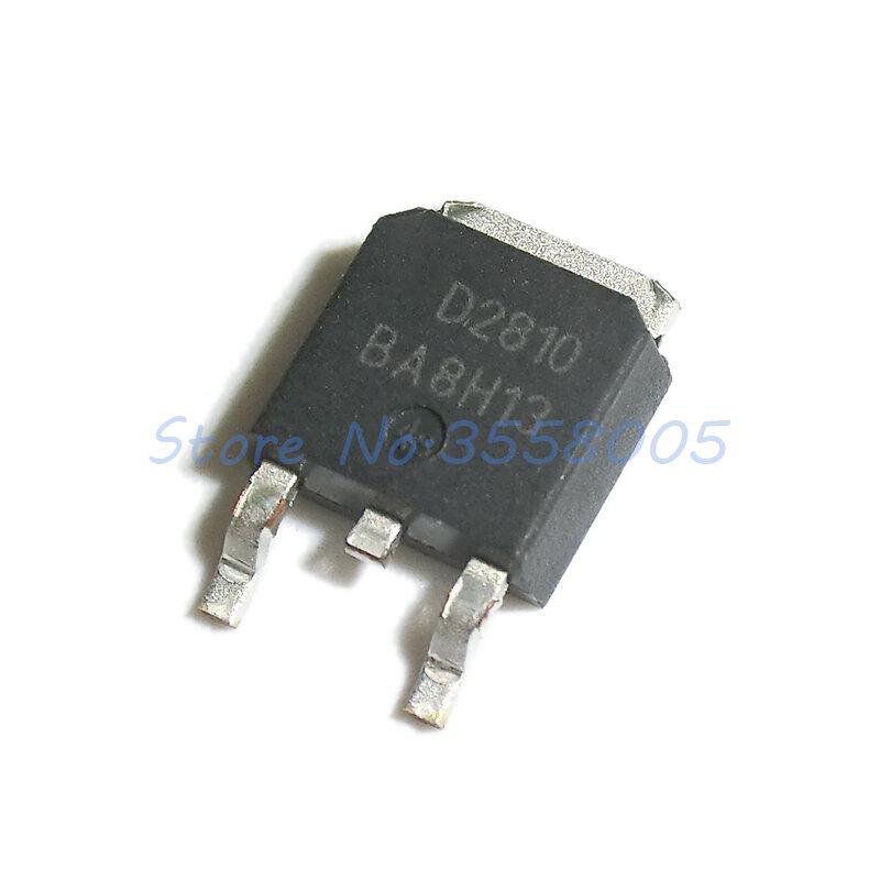 10 قطعة/الوحدة AOD2810 D2810 إلى-252
