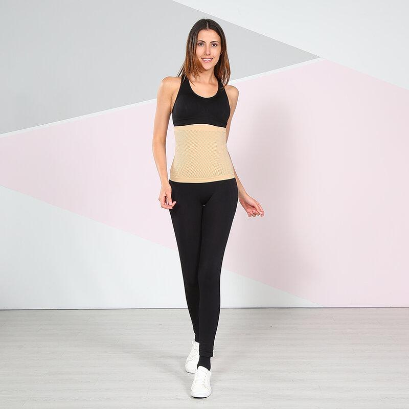ไม่มีรอยต่อหลังคลอด Belly Band Wrap ชุดชั้นใน C-section Recovery เข็มขัด Binder Shapewear Slimming สำหรับผู้หญิง