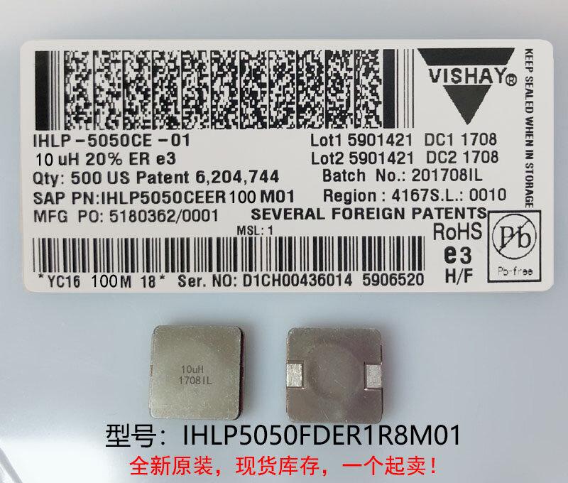 (10) 새로운 원본 100% 품질 IHLP5050FDER1R8M01 1.8UH 13X13X6.5MM 통합 고전류 인덕터