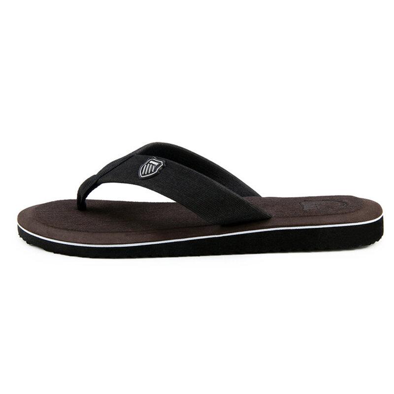 2021 nouveauté Hommes D'été Tongs de Plage De Haute Qualité Sandales Anti-dérapant Zapatos Hombre Chaussures Décontractées En Gros A10