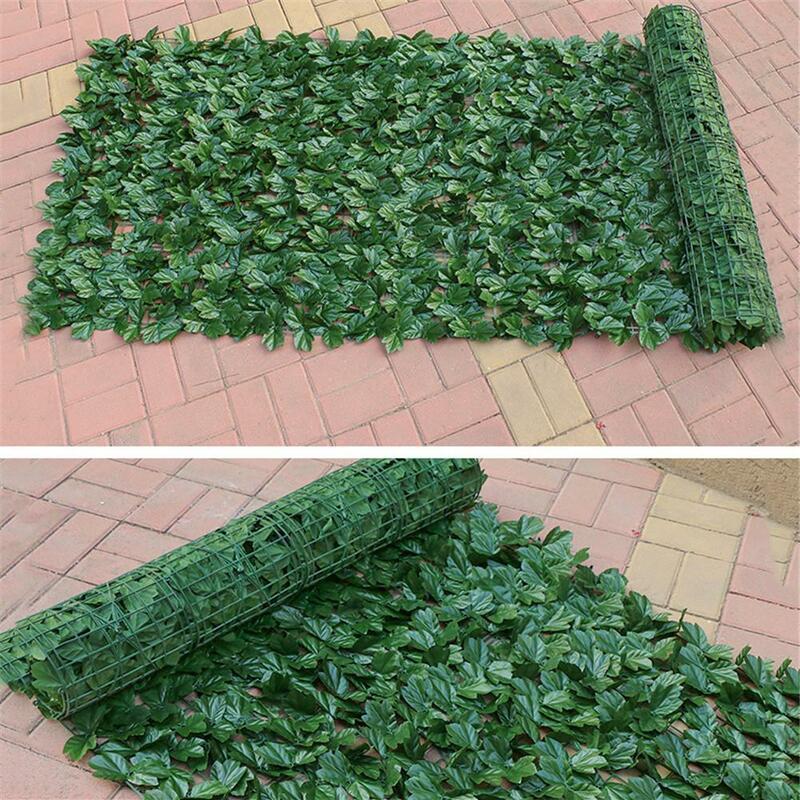 인공 개인 정보 보호 패널 Topiary 헤지 공장 자외선 보호 개인 정보 보호 화면 정원 울타리 실내 야외 뒷마당 홈 장식