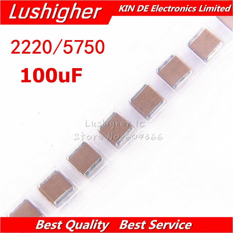5 개 2220 미크로포맷 2200nF 5750 K 2.2 V 1KV X7R 225 SMD MLCC 세라믹 커패시터