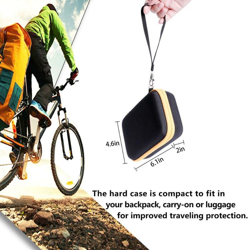 LTGEM 방수 EVA 하드 케이스 Kodak 미니 샷 2 레트로 휴대용 무선 인스턴트 카메라 및 포토 프린터-노란색