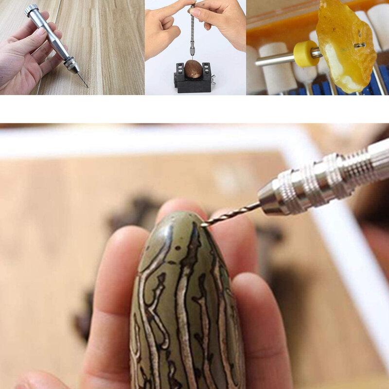 Holzbearbeitung bohrer mit keyless chuck HSS twist drill bit hohe qualität mini mini aluminium hand bohrer, dreh werkzeug hand bohrer werkzeug