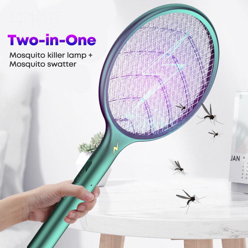 모기 퇴치 방지 충전식 모기 램프, 스와터 플라이 버그 재퍼 트랩 야외 실내 모기 킬러 램프