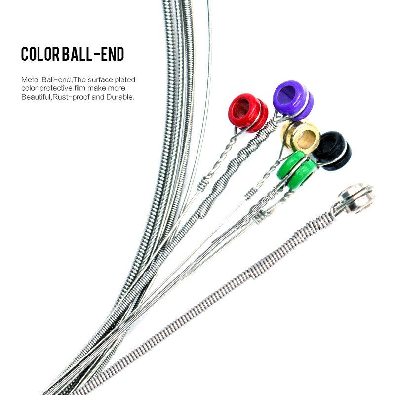 Orpheeโลหะชุดสายกีตาร์ไฟฟ้าRX Series Practicedหกเหลี่ยมเหล็กคาร์บอน 6 Stringสำหรับชิ้นส่วนกีตาร์เครื่องดนตรี