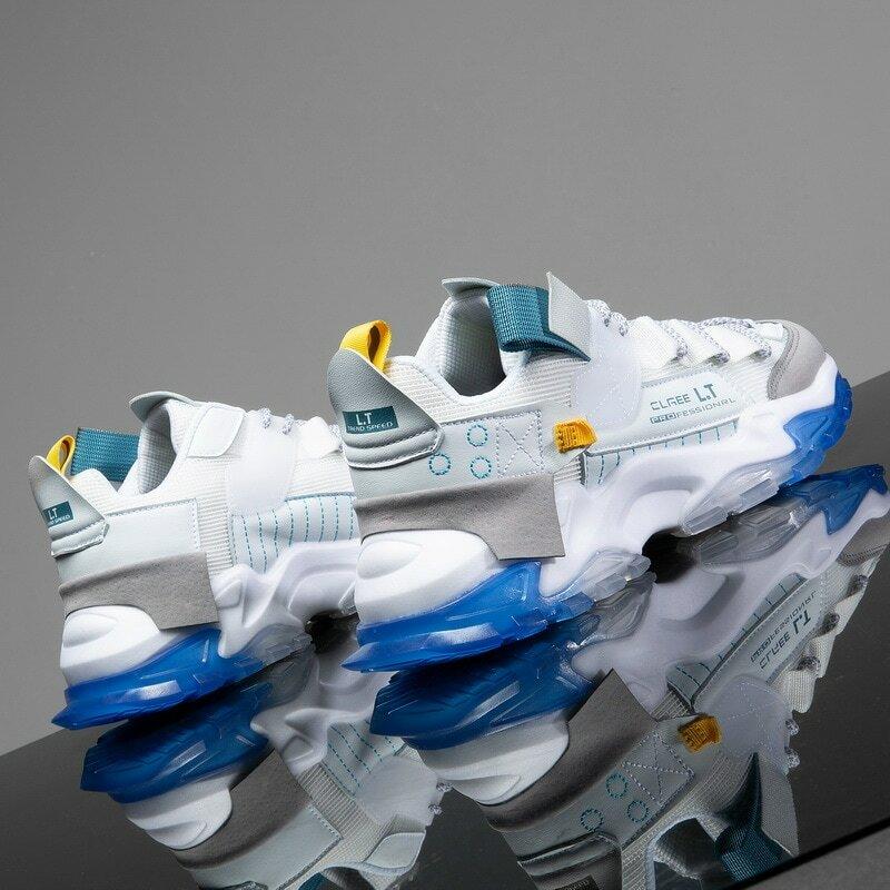 chaussure Hommes chaussures Sneakers Hommes Hommes chaussures décontractées tenis Chaussures de luxe entraîneur de Course blanc Cassé chaussures Mode mocassins chaussures de course Pour hommes