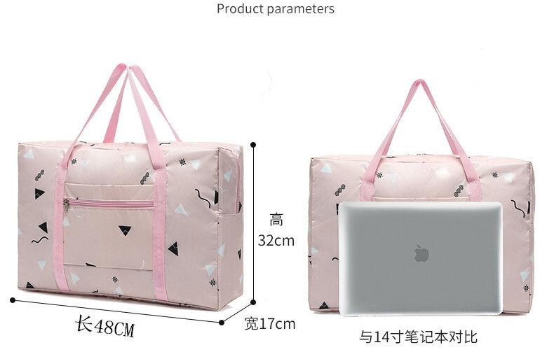 2021 neue Mode frauen Reisetaschen Gepäck Handtasche Floral Print Frauen Reise Tote Taschen Große Kapazität PT558