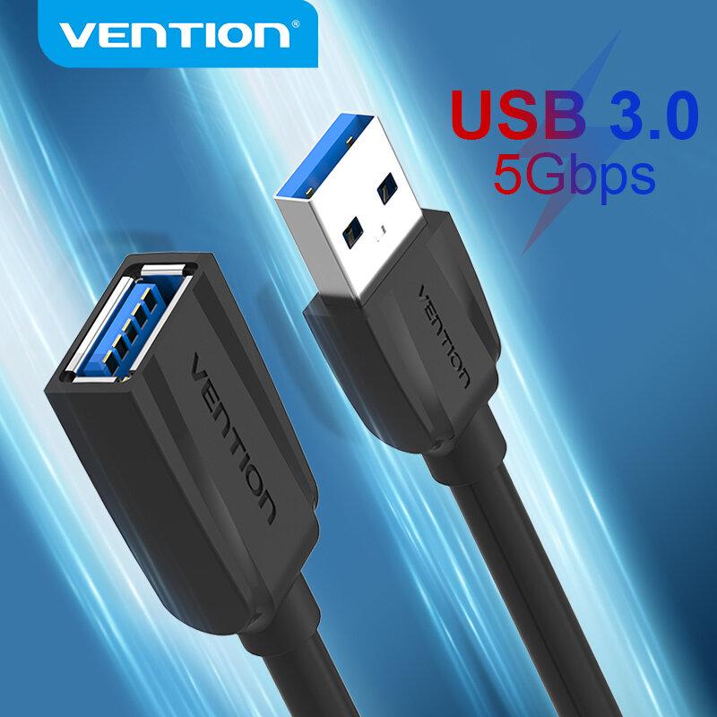 Tions USB Kabel USB 3,0 Verlängerung Kabel Männlich zu Weiblich 3,0 2,0 USB Extender Kabel für PS4 Xbox Smart TV PC USB Verlängerung Kabel