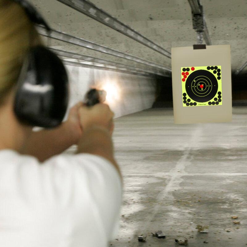 Hot 10 pz Splash fiore bersaglio adesivo reattività sparare obiettivo obiettivo per fucile pistola raccoglitori pistola natura umana caccia formazione