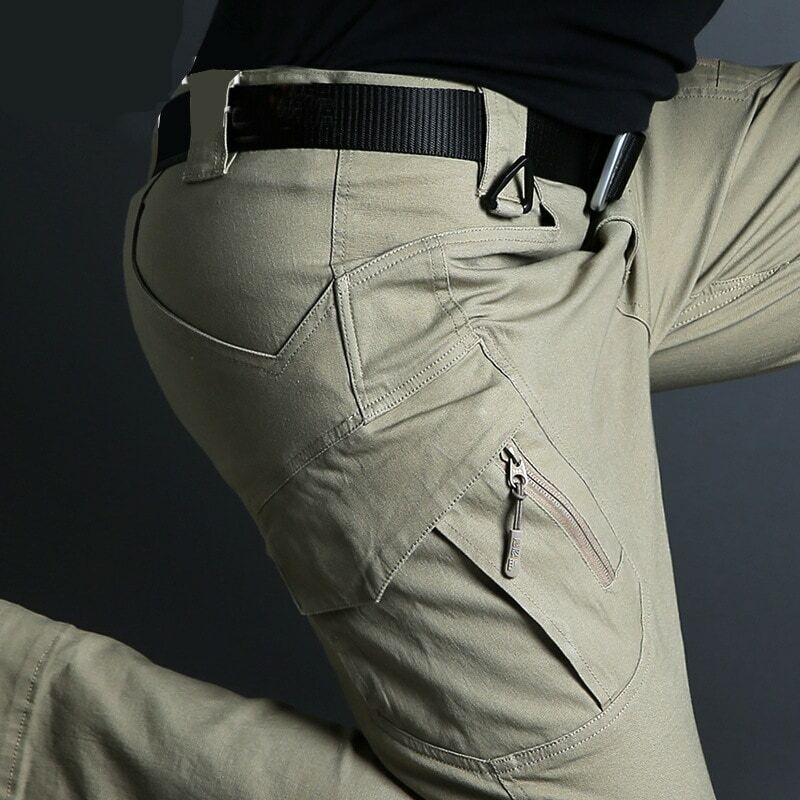 Ix9 Pantalones Tacticos Militares Para Hombre Pantalon Largo De Combate Resistente Al Agua Transpirable Del Ejercito Swat Color Solido Para Correr S 5xl Pantalones